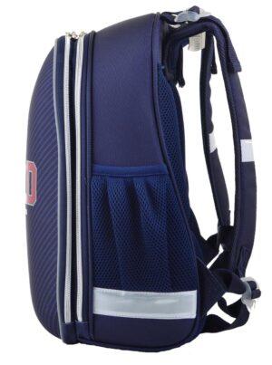 Рюкзак шкільний для хлопчика 1 вересня каркасний отд. для ноутбука Harvard 554607