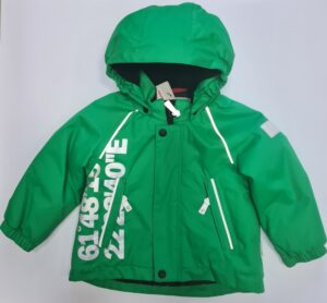 Куртка для мальчика Reima-tek зеленая 511185