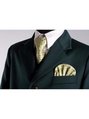 Шкільний піджак для хлопчика зеленого кольору