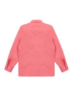 Рубашка для мальчика классика персикового цвета
