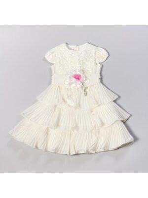 Платье нарядное для девочки с юбкой плиссе Flora