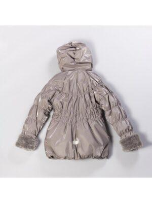 Куртка для девочки бежевая с блеском Lenne ALIDA