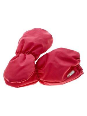 Рукавиці червоного кольору без пальчиків для малюків