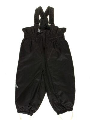 Полукомбинезон черного цвета для малыша