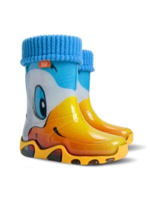 Резиновые сапоги для девочки и мальчика Stormic Lux Утка