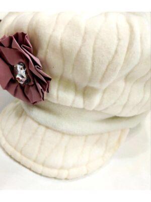 Зимняя шапочка для девочки флисовая Karen