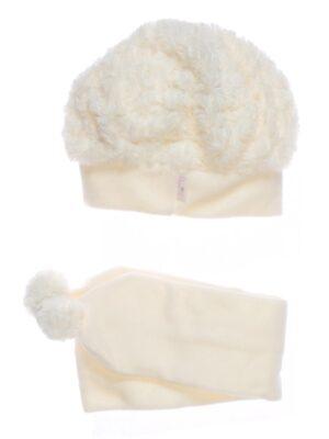 Зимовий комплект для дівчинки світло рожевий фліс Anita