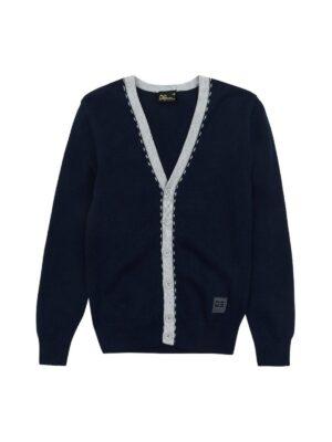 Кофта для мальчика синево цвета 50952 Deloras