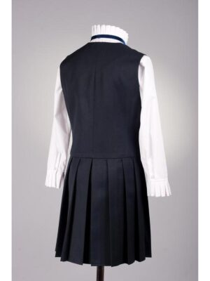 Сарафан школьный синего цвета для девочки 135