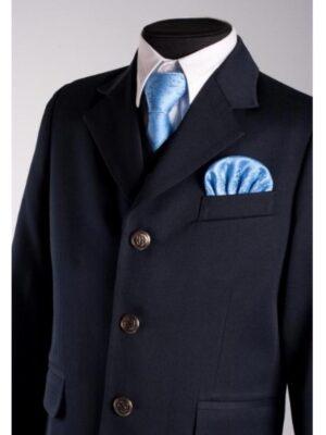 Школьный пиджак для мальчика синего цвета Велма