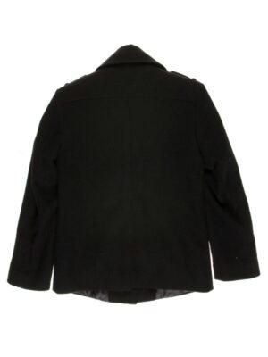 Пальто-куртка для мальчика утепленное черное