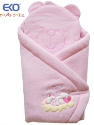 Конверт для новорожденного розового цвета Mis