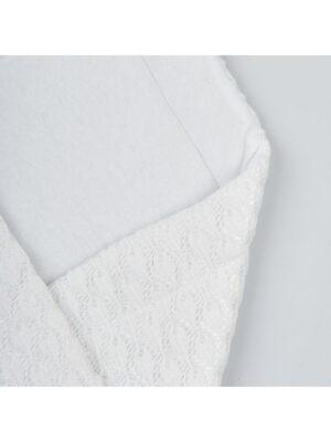 Конверт для новорожденного белого цвета Azurowy