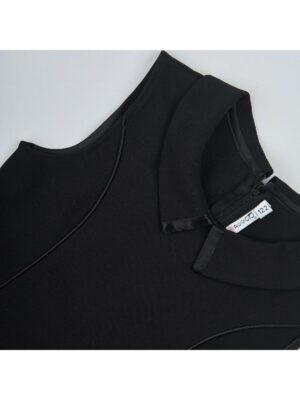 Сарафан для дівчинки шкільний чорного кольору Ewa