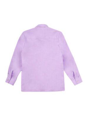 Рубашка для мальчика классика в сиреневом цвете Арт. 01-15 Jankes