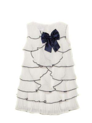 Платье для девочки нарядное кремовое с воланами Kaja