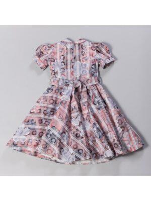 Сукня з коротким рукавом і квітковим принтом Klara