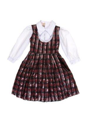 Комплект для дівчинки ошатний сарафан і блуза Bombka