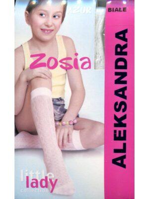 Гольфы для девочки белые ажурные Zosia