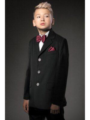 Шкільний піджак для хлопчика чорного кольору 014 Велма