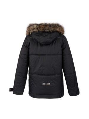 Куртка для хлопчика чорна зимова