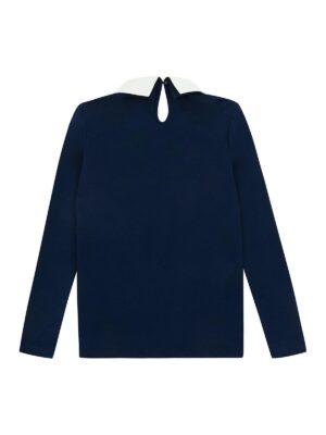 Кофта трикотажна для дівчинки ошатна синя