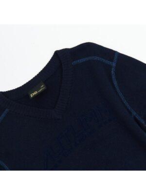 Свитер синий для мальчика под рубашку 1930 Deloras