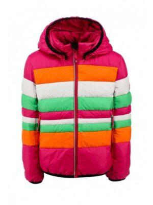 Куртка-пуховик для девочки вишневая 531186 Reima