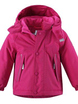 Куртка для дівчинки малинова