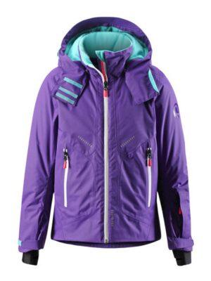 Куртка зимняя для девочки фиолетовая Clouds 531170 Reima