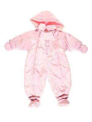Комбінезон Демі світло рожевий для новонародженого Zyrafa