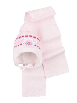 Комплект Зимовий для дівчинки рожевий