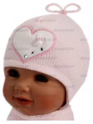 Комплект зимний для девочки розовый