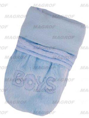 Варежки для мальчика голубого цвета Boys