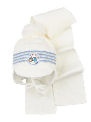 Комплект Зимовий для хлопчика світло-блакитного кольору