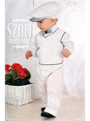Ошатний костюм для хлопчика білий