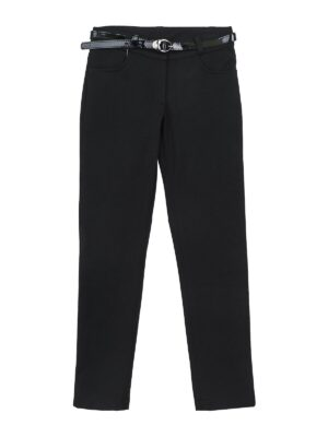 Штани для дівчинки шкільні чорного кольору 9133 Badi Junior