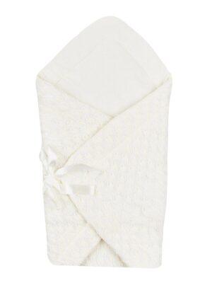 Конверт для новорожденного молочного цвета