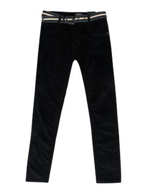 Штани вельветові чорні для хлопчика утеплені