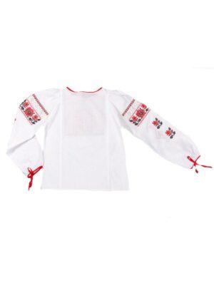 Вишита блуза для дівчинки з довгим рукавом Чарівний сад