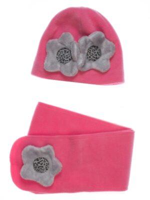 Зимняя шапка для девочки подростка малина Malina Pupill