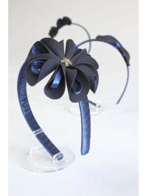Обруч для дівчинки синього кольору в асортименті