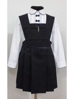 Сарафан для девочки школьный черного цвета для девочки 119