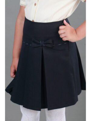Шкільна спідниця для дівчинки синя Велма