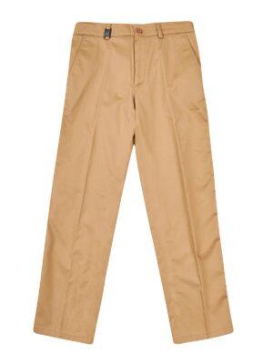 Штани для хлопчика плащівка гірчичного кольору бавовняні