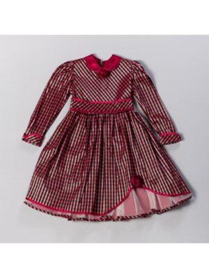 Сукня для дівчинки в чорно-червону клітинку ошатне Kratezka