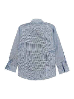 Сорочка для хлопчика в біло-синю смужку