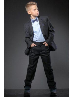 Школьные брюки синие для мальчика Велма