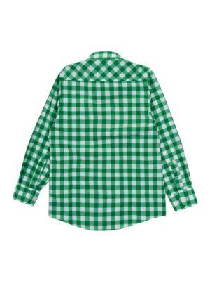 Сорочка для хлопчика класична в клітку