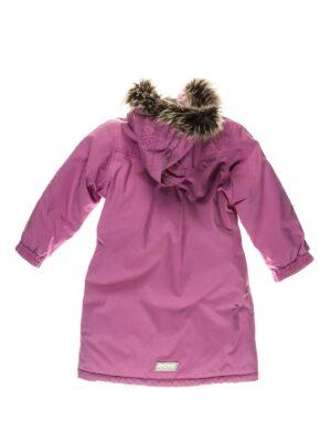 Пальто для девочки сиреневое зимнее 21252 Reima
